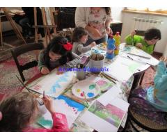 Laboratorio di disegno e pittura per bambini