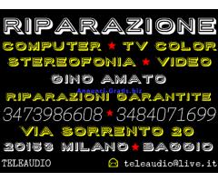 Riparazione Computer - Tv