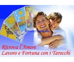 ESPERTE CARTOMANTI SENSITIVE SU AMORE,LAVORO,FORTUNA,