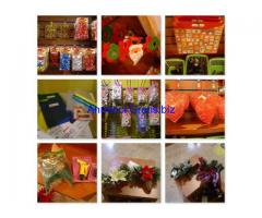 Stock di articoli decorativi, casalinghi, ecc.
