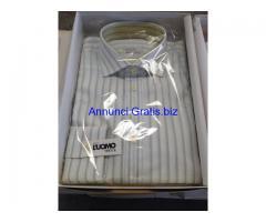 Stock camicie da uomo Made in Italy