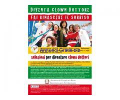 Save the date: Iscriviti al nostro Corso di Clownterapia!
