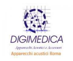 Digimedica apparecchi acustici ed accessori per la sordità.