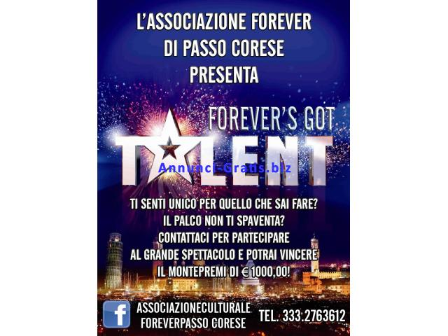 FOREVER'S GOT TALENT