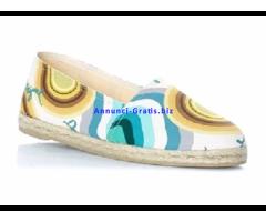 DESIGUAL Espadrillas Multicolore - Tg 38 - Scarpe Donna