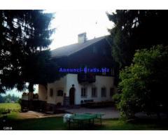 Villa di famiglia a Siusi,Immersi nel bosco