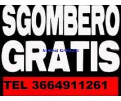SGOMBERO GRATIS APPARTAMENTI E CANTINE