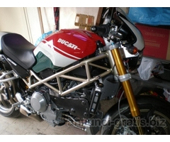 Ducati Monster S4RS-Testastretta-Tricolore