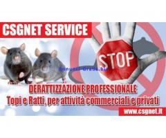 Derattizzazione per attività Commerciali in Calabria