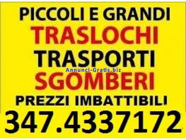 Roma sgomberi economici abitazioni cantine box locali for Negozi arredamento roma economici