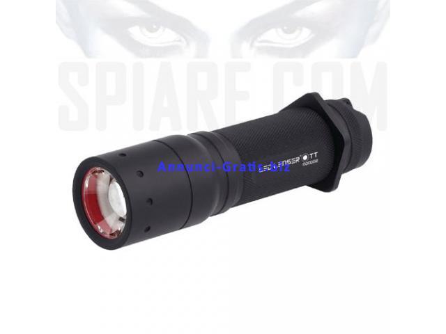Torcia LED Tattica Tascabile 280 Lumen LED Lenser TT