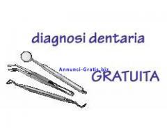 Analisi dentaria gratuita, visita gratuita