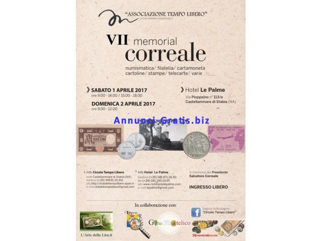 VII Memorial Correale - 1/2 Aprile