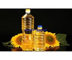Olio di girasole raffinato, olio di mais