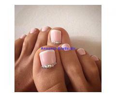 Ricostruzione unghie gel e regalo Nail art design