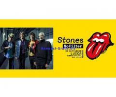 2 biglietti concerto Lucca Rolling Stones