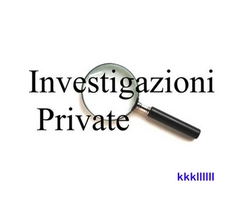 INVESTIGAZIONI PRIVATE A