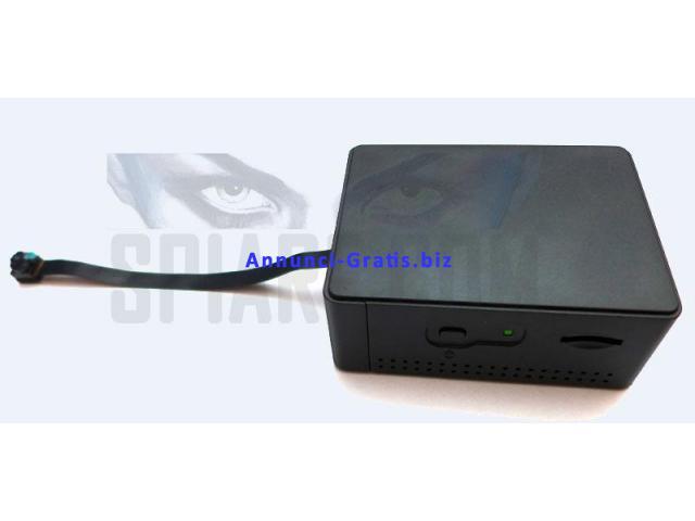 Telecamera Spia WiFi IP Mini con Memoria Micro SD e Obiettivo separato