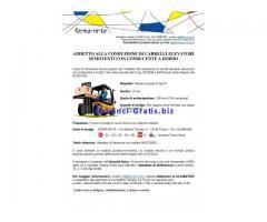Corso Abilitante alla conduzione di carrelli elevatori