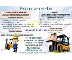 Aggiornamento Carrellisti (patentino)