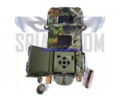 Fototrappola telecamera notturna a infrarossi invisibili a batteria per uso esterno