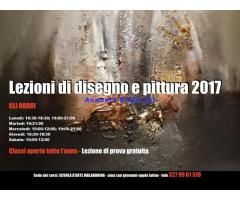 LEZIONI DI DISEGNO E PITTURA 2017-2018