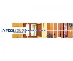 Infissi 2000 in legno ed alluminio, finestre, persiane, porte e zanzariere a Roma.