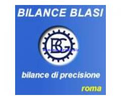 Bilance Blasi vendita, riparazioni ed assistenza strumenti di peso a Roma.