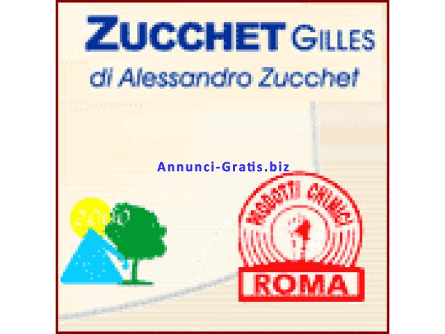 Zucchet Gilles da molti anni nel settore dell'igiene ambientale Roma e provincia.