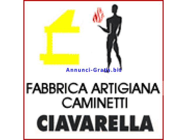 Ciavarella fabbrica artigianale e vendita caminetti a Roma.