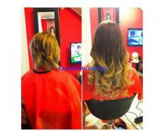 applicazione extension con capelli naturali euro 200