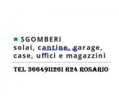 SGOMBERO TUTTO E GRATIS APPARTAMENTI GARAGE E CANTINE