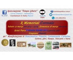 X Memorial Correale - 17/18 marzo Gragnano (Napoli)