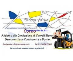 Corso per Carrellisti / Patentino mulettisti
