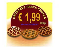 Crostate di pasta frolla della Calabria, qualità e risparmio