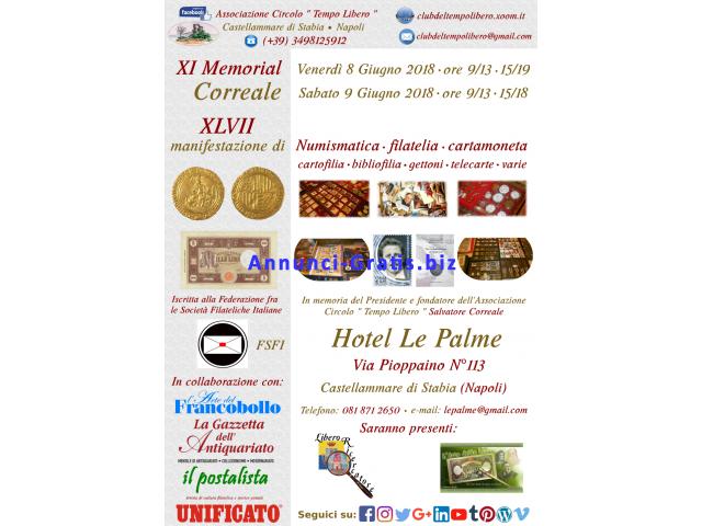 XI Memorial Correale – 8/9 Giugno 2018 – Castellammare di Stabia -