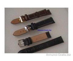Omega cinturini con fibbia color marrone o nero mm. 18 € 5