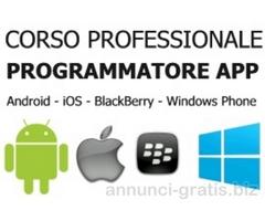 Corso per Programmatore APP Android, iOS, BlackBerry