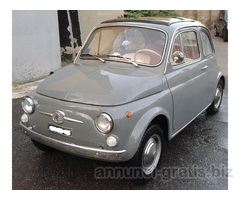Fiat 500 f 1967 totalmente restaurata