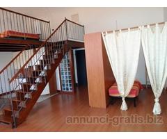 Loft in affitto arredato e dotato di confort