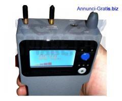Rilevatore di Microspie Ambientali analogiche e digitali professionale