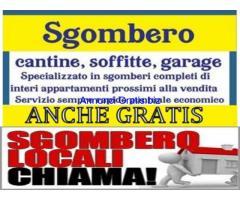 Sgombero e svuoto appartamenti gratis a Napoli e campania