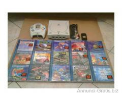 Console Dreamcast 128 bit Pal con 15 giochi originali