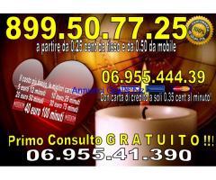 cartomanziastudiofuturo a basso costo a 0.25 al min 899.04.20.53