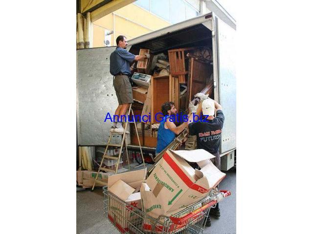 Sgombero svuoto appartamenti cantine box GRATIS ritiro vecchi mobili napoli e campania