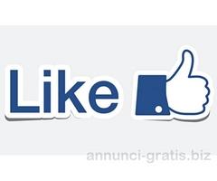 Vendo 800 mi piace su facebook