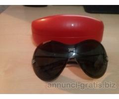 occhiali da sole e cinture originali usate donna
