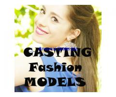 Casting Fotomodella Brand Shooting