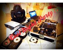 Service, DJ e Animazione per Feste di Compleanno ed Eventi