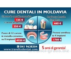 Trattamento dentale efficace nelle cliniche di Moldavia